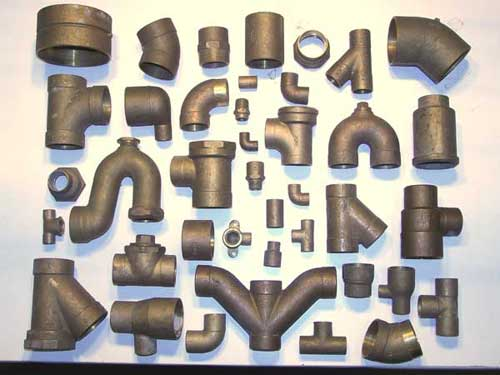 Surplus Cast Copper Plumbing Fittings